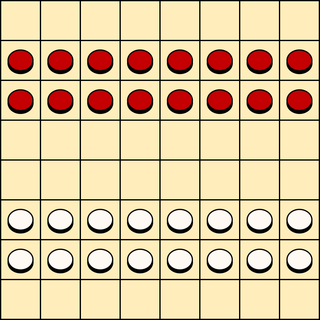 Turkish draughts Variant of draughts played in the Mediterranean and Middle East