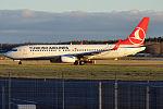 Turkish Airlines, TC-JVA, Boeing 737-8F2 (22931937094).jpg
