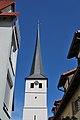 Turm der Laurentiuskirche Höfingen.jpg