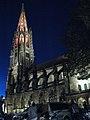 Turmfinale, Feier zum Abschluss der zwölfjährigen Renovierung des Münsterturms mit farbiger Beleuchtung 29.jpg