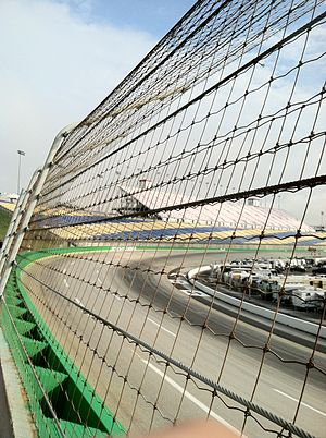 Kentucky Speedway - This is the early morning hours of race day at Kentucky Speedway.