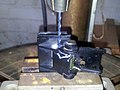 Turntable Hinge Repair - drilling (9818418613).jpg