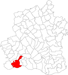 Location in Teleorman County