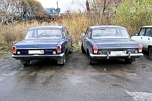 GAZ-24 - 1974 and 1978 Volgas - represent two generations of GAZ-24 Volga