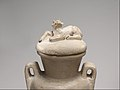 Two Handled Jar and Lid decorated with a Resting Calf MET DP226282.jpg