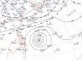 Typhoon Ophelia 1960 surface map.png