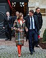 U. S. Speaker of the House of Representatives Nancy Pelosi and Luxembourgish PM Xavier Bettel (cropped).jpg