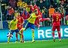 UEFA EURO qualifiers Sweden vs Romaina 20190323 Duell 2.jpg