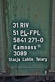 UIC number on FPL freight wagon.JPG