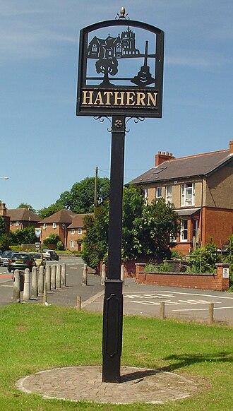 Hathern - Hathern Signpost