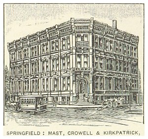 Crowell-Collier Publishing Company - Mast, Crowell and Kirkpatrick Publishers (1891)