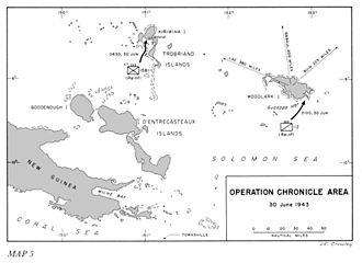 Operation Chronicle - Operation Chronicle 30 June 1943
