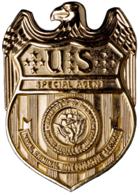 Badge of an NCIS Special Agent USA - NCIS Badge.png