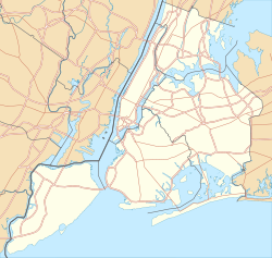 Outerbridge Crossing is located in New York City
