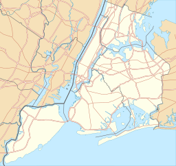 USA New York City location map.svg