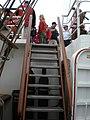 USCGC Eagle ladder to upper deck.JPG