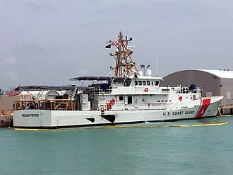 USCGC Rollin A. Fritch - Image: USCGC Rollin Fritch prepares to head to her homeport, Cape May, NJ