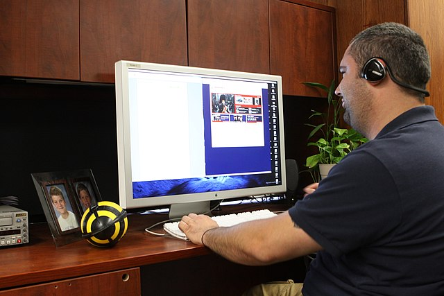 The Marine Corp experimented with teleworking over a decade ago.