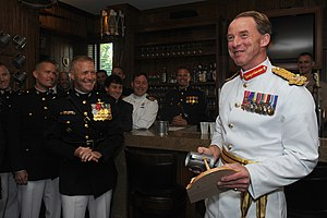 Commandant-general - Commandant general of the Royal Marines, Maj. Gen. Buster Howes, Washington DC, 2011
