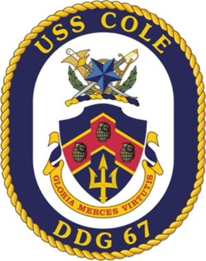 USS Cole (DDG-67) - Image: USS Cole DDG 67 Crest