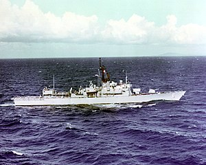 USS Julius A. Furer (FFG-6) underway at sea on 1 September 1984.jpg