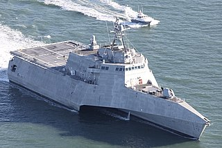 USS <i>Manchester</i> (LCS-14) Independence-class littoral combat ship of the United States Navy