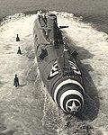USS Patrick Henry (SSBN-599) launch 1959.jpg