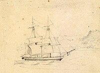 USS Peacock 1813