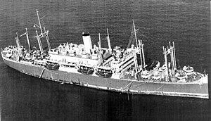 SS President Cleveland (1920) - Image: USS Tasker H. Bliss (AP 42)