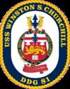 USS Winston Churchill DDG-81 Crest.png