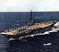 USS Yorktown (CVA-10) underway in the Pacific Ocean, in 1956.jpg