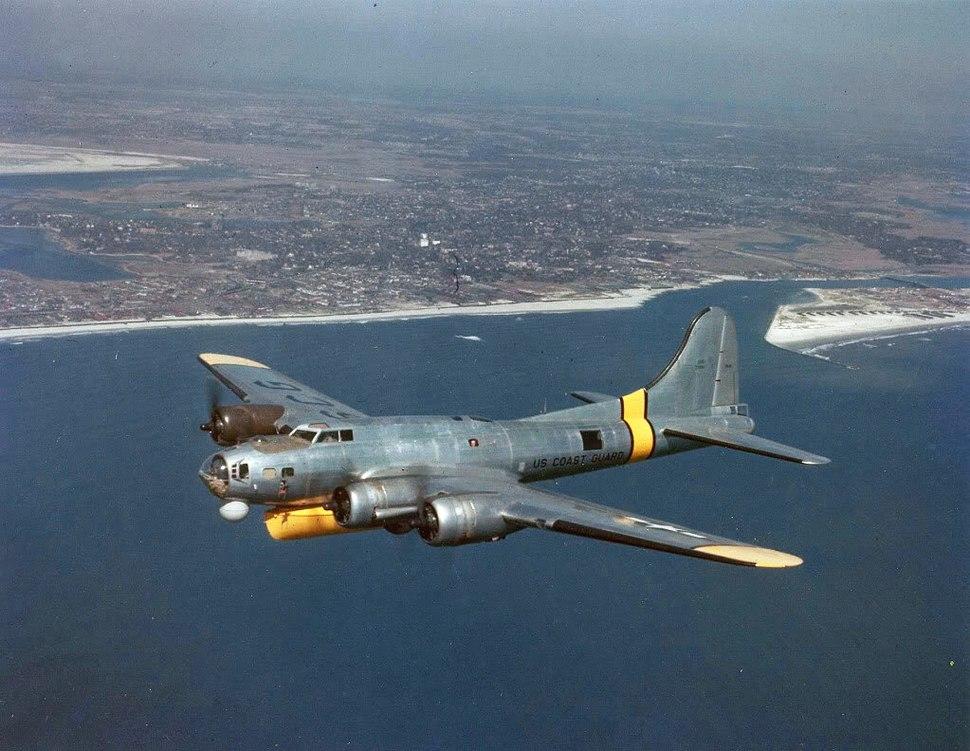 US Coast Guard PB-1G in flight