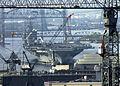 US Navy 030813-N-8327M-001 USS George Washington (CVN 73) transits out of the Norfolk Naval Shipyard in Portsmouth, Va.jpg