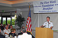 US Navy 071017-N-4995K-060 Adm. Patrick Walsh, Vice Chief of Naval Operations, speaks about the Cooperative Strategy for a 21st Century Sea Power during a fleet week foundation breakfast at the Adm. Kidd club on board Naval Bas.jpg
