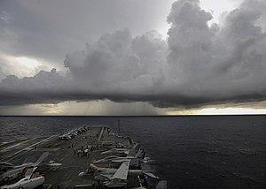 United States Second Fleet - Flight ops (24 July 2008)