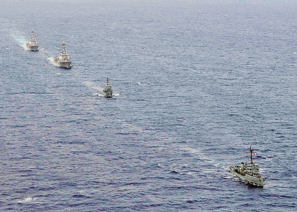 US Navy 110705-N-XR557-190 Ships are underway during Cooperation Afloat Readiness and Training (CARAT) Philippines 2011