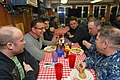 US Navy 120127-N-OV358-162 Food Network personality chef Robert Irvine talks to Sailors.jpg