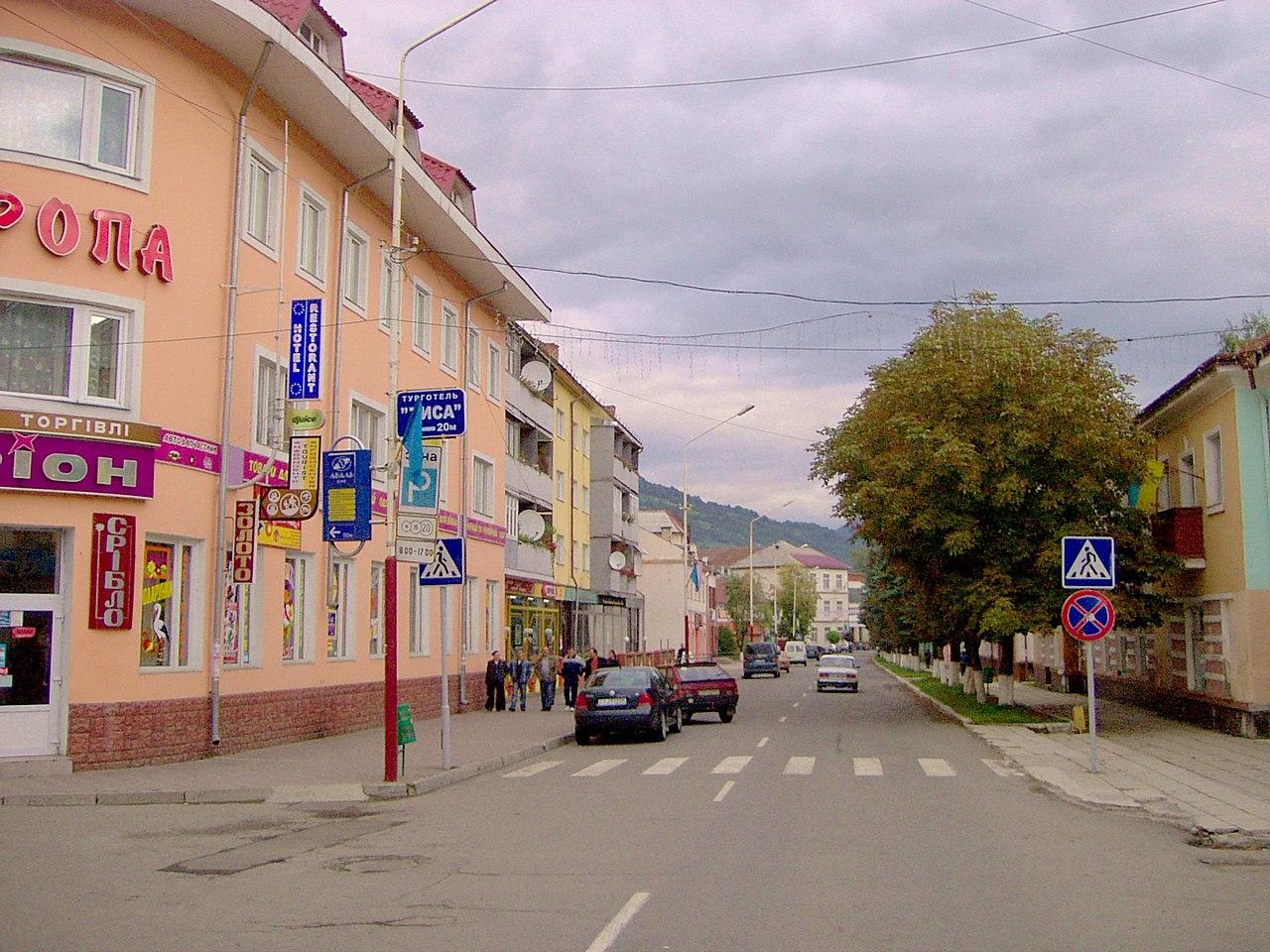 Цетральная улица