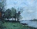 Ucciani Pierre (tabl) 1900 env. bord de Loire (huile sur bois) sbg, non daté, note au dos bord de Loire (coll. Chapuis-Hubac) photo Christian Hubac.jpeg