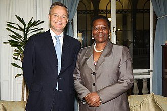 Irene Muloni - Image: Ugandan Minister for Energy and Minerals (10928382334)
