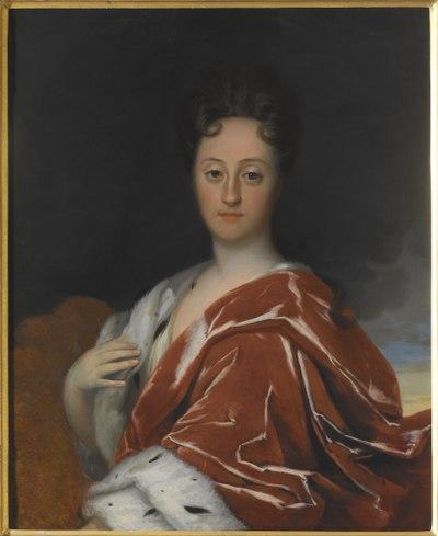 Ulrika Eleonora d. y., 1688-1741, drottning av Sverige (David von Krafft) - Nationalmuseum - 112516.tif