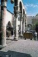 Umayyad Mosque, Damascus (دمشق), Syria - Detail of west Byzantine walkway from southwest - PHBZ024 2016 0048 - Dumbarton Oaks.jpg