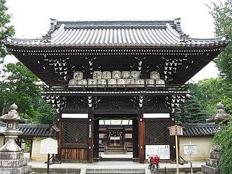 Umenomiya Shrine - Main gate of Umenomiya Shrine