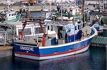 bateau de peche nom
