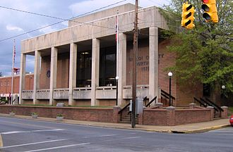 Unicoi County, Tennessee - Image: Unicoi county courthouse tn 1