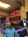 Union Station during the Cubs 2016 World Series run IMG 6994.jpg