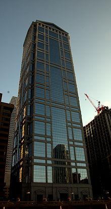 Il Donnelley Building al 77 West Wacker Drive, Chicago, dove si trova la sede di United Airlines