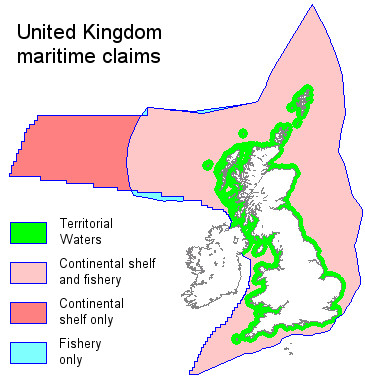United Kingdom maritime claims