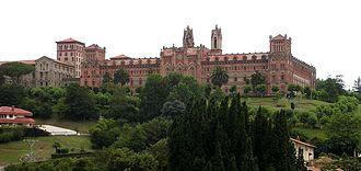 Comillas - Building of Comillas Pontifical University