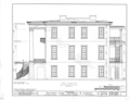 University of Alabama, President's House, University Boulevard, Tuscaloosa, Tuscaloosa County, AL HABS ALA,63-TUSLO,3B- (sheet 6 of 16).png